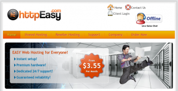httpEasy web hosting
