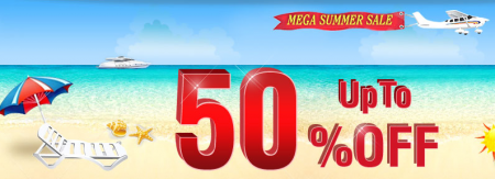 WHUK summer sale banner for 50% off