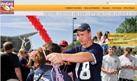 Peyton Manning Peyback Foundation