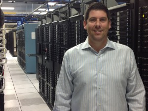 Profile picture of Steven Eschweiler at the data center