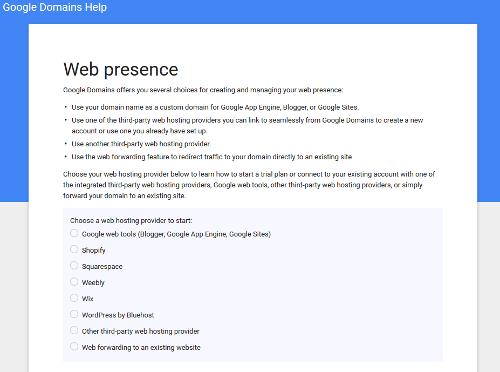 Google Domains Chose BlueHost To Provide WordPress Hosting